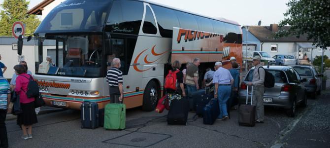 1. Tag – Abreise und Ankunft in Turin