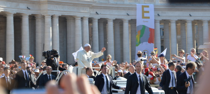 Tag 2: Eröffnungsgottesdienst und Papstaudienz